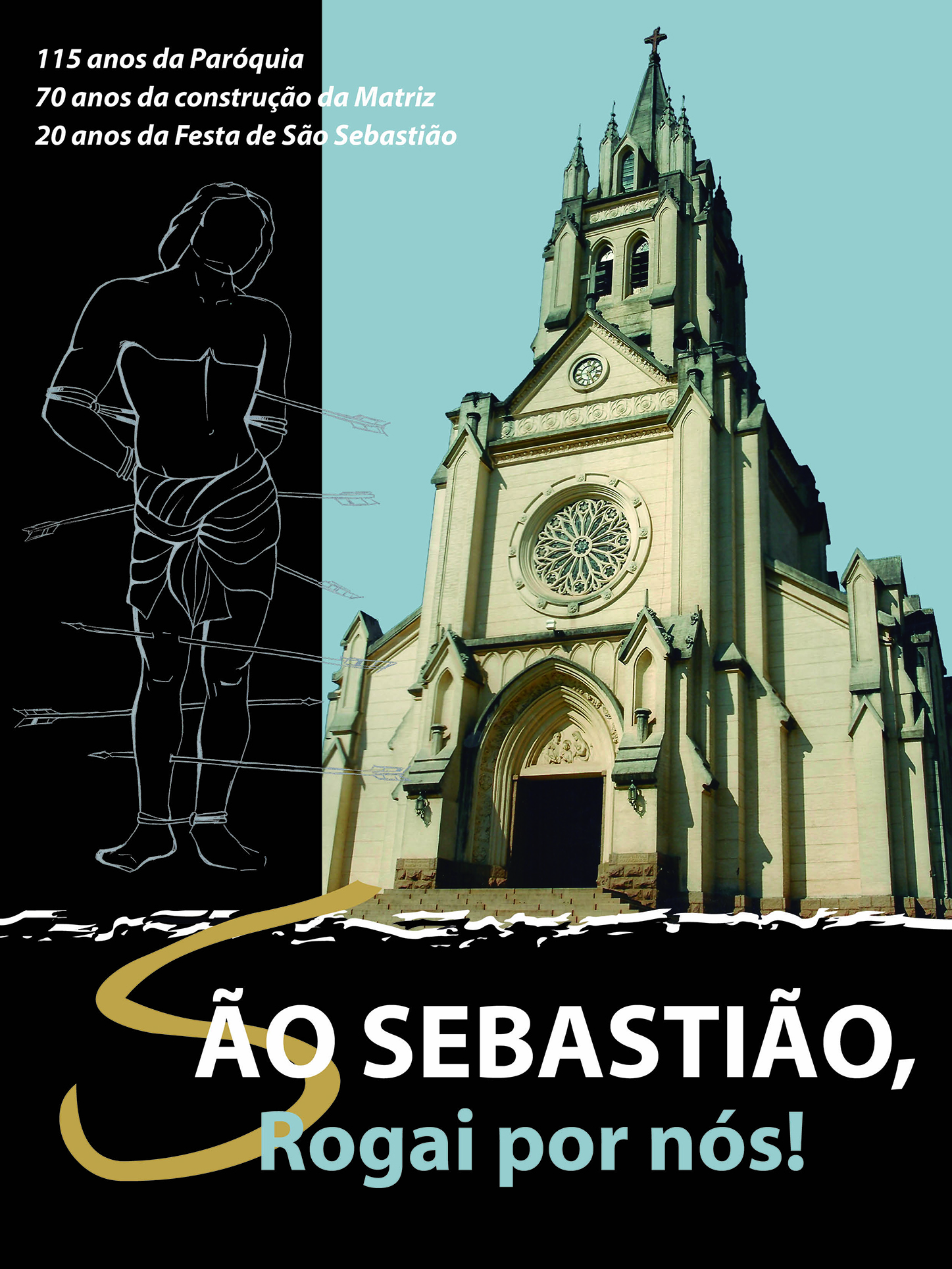 """Paróquia lança Revista """"São Sebastião Rogai por Nós"""""""