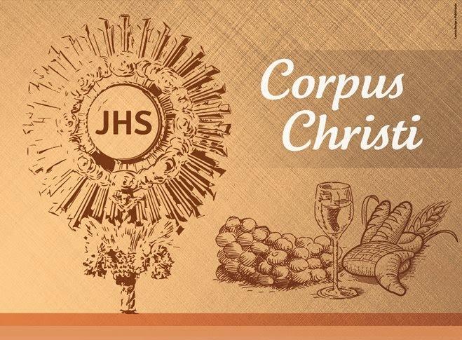 Participe da celebração do Corpus Christi