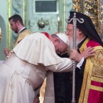 Papa pede a católicos e ortodoxos trabalho pelo bem comum