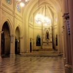 Limpeza no Interior da Matriz de São Sebastião