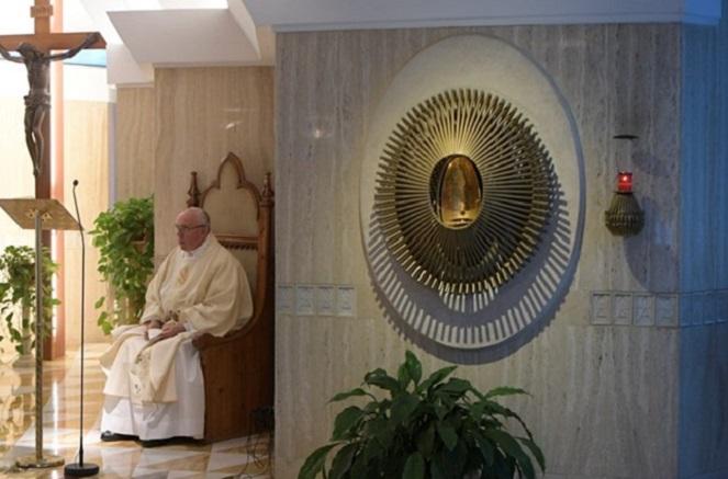 Papa: abrir o coração ao Espírito Santo para testemunhar Jesus