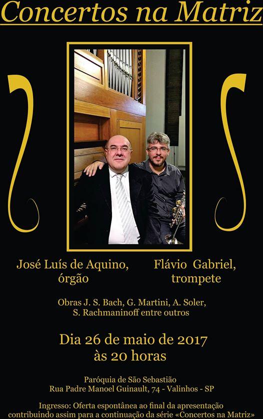 Concertos na Matriz. Participe!!