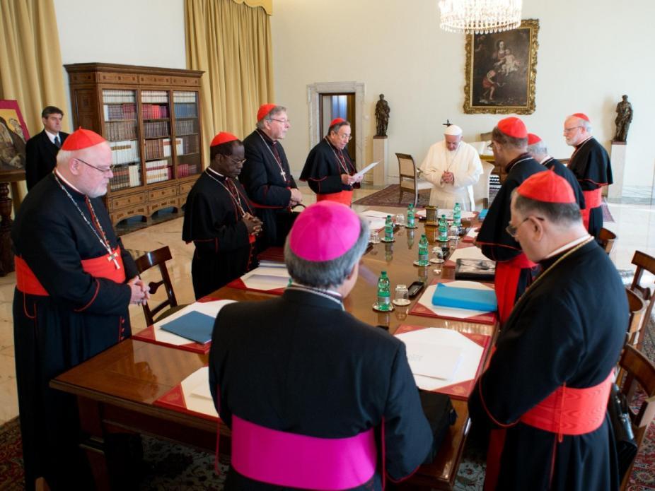 Cardeais propõem descentralização de alguns aspectos do governo da Igreja