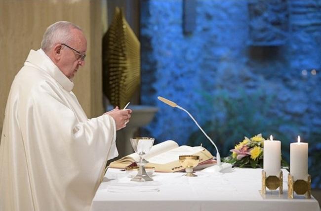 """Papa: """"pensar na morte faz bem, será o encontro com o Senhor"""""""