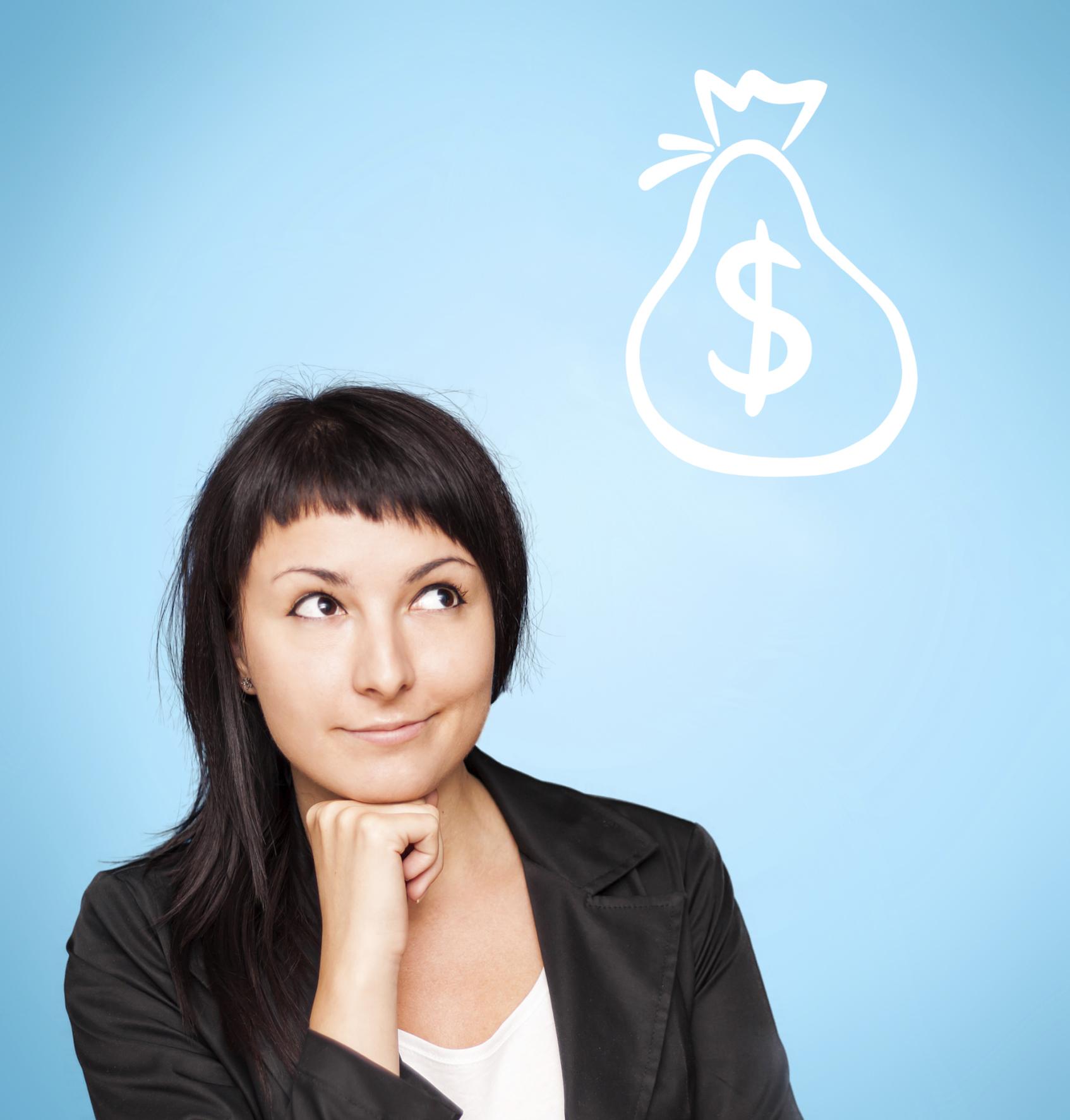 A gestão de dinheiro pelas mulheres