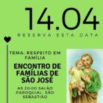 Participe do Encontro de Famílias de São José