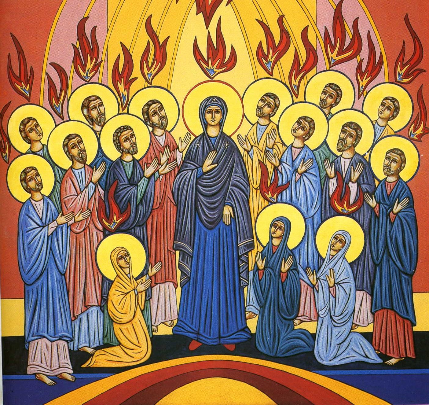 Reflexão Bíblica - Solenidade de Pentecostes - Ano B - 20.05.2018