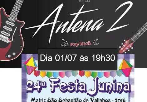 Última semana da Festa Junina na Matriz. Participe!
