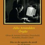 Concertos na Matriz: Júlio Amstalden no órgão