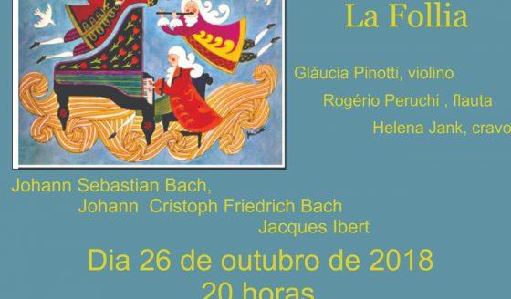 Amanhã, 26 de outubro, tem apresentação da série Concertos na Matriz. Saiba mais