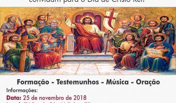 Celebre Cristo Rei com o Movimento Regnum Christi e TV Século 21. Saiba mais