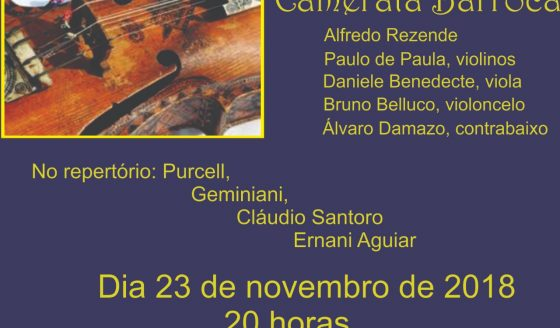 """Dia 23 de novembro prestigie mais uma edição da Série """"Concertos na Matriz"""""""
