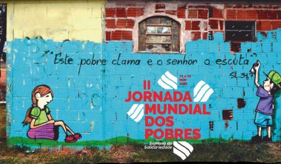 Cáritas libera o material para a 2ª Jornada Mundial dos Pobres