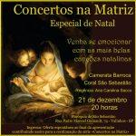 Concertos na Matriz apresenta: Concerto de Natal