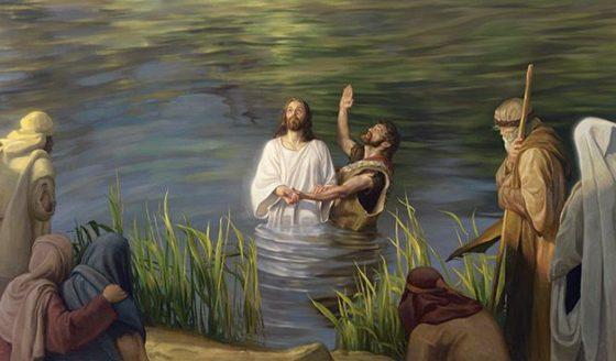 Reflexão Bíblica - Batismo do Senhor - 13.01.2019