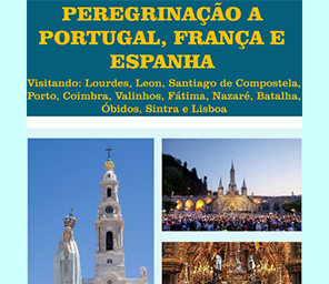 Peregrinação a Portugal, França e Espanha com o Pe Dalmirio do Amaral