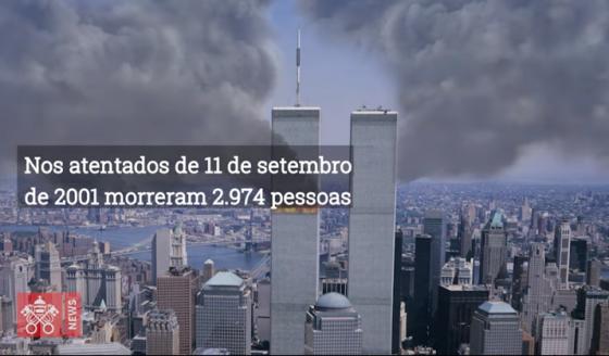 """11 de setembro de 2001, """"dia obscuro na história da humanidade"""""""