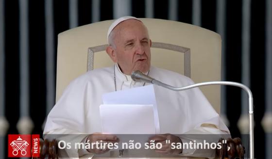 """O Papa: calúnia, """"câncer diabólico"""" que destrói a reputação de uma pessoa"""