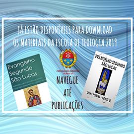ESCOLA DE TEOLOGIA- EVANGELHO DE LUCAS