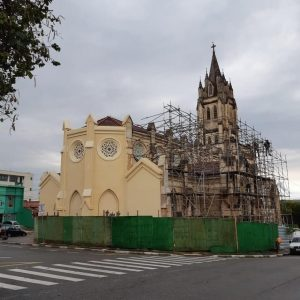 Matriz S. Sebastião já tem 1ª parte restaurada